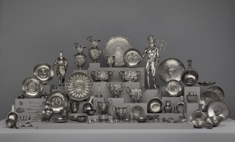 Magnificent Ancient Roman Silver Treasure Revealed