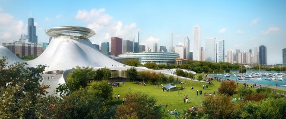 Sketches Of George Lucas Museum Look Like They Belong In Outer Space