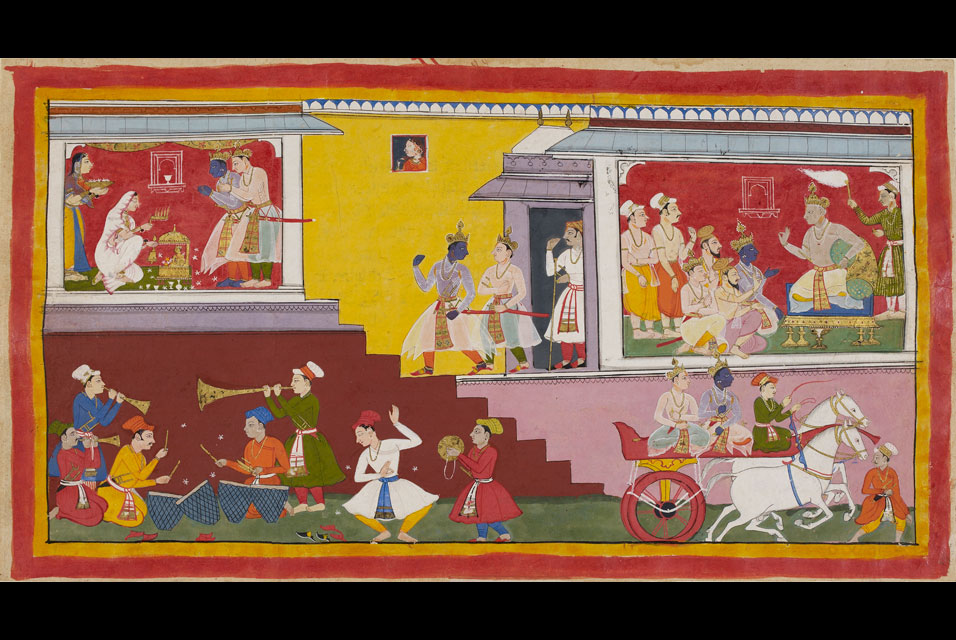Finest surviving illustrated manuscript of the Ramayana now digitised and available online