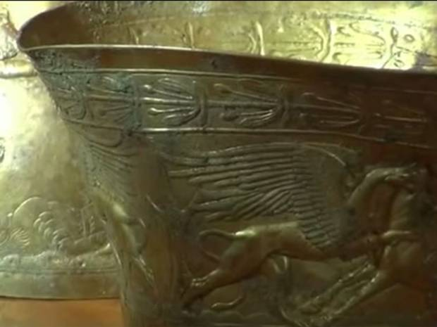 Ancient 2,400-year-old gold bongs discovered in Russia
