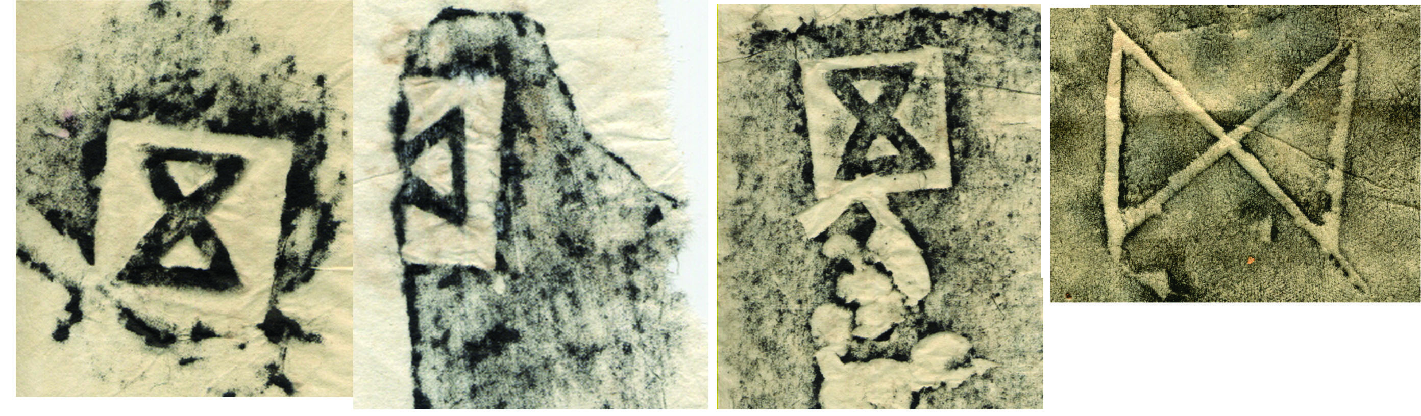 Signs and characters inscribed on the construction materials found in Phuong Nhi site (Nam Dinh province)
