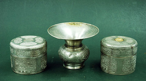 The betel chewing utensils of the Nguyen royal family