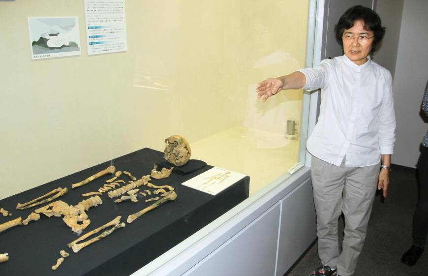 Japan's oldest human skeleton found in Okinawan cave