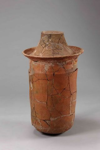 Jar coffin