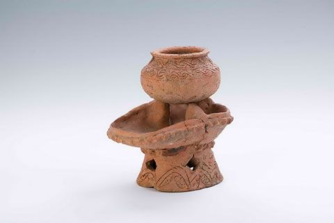 Miniature cooking stove and miniature pot